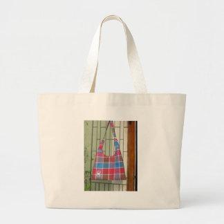 Bolso de mano de las señoras bolsa tela grande