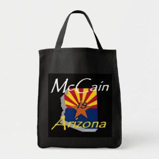 Bolso de McCain 2010 Bolsa Tela Para La Compra