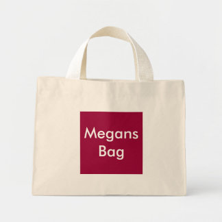 Bolso de Megans Bolsa Tela Pequeña