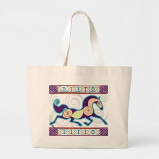 Bolso de MegaTote del caballo de los nórdises: Uva Bolsa De Mano