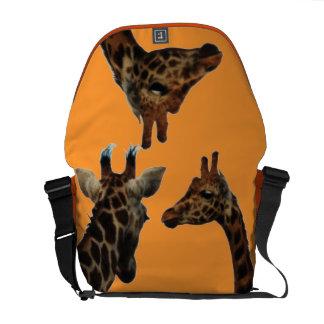bolso de Messnger del carrito de las jirafas Bolsas Messenger