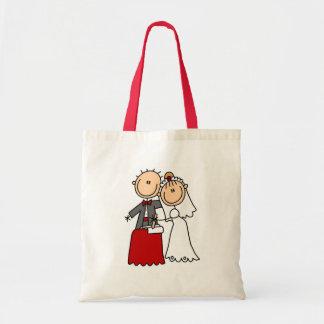 Bolso de novia y del novio bolsas