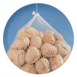 Bolso de nueces platos de comidas