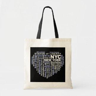 Bolso de NYC Bolsa Tela Barata