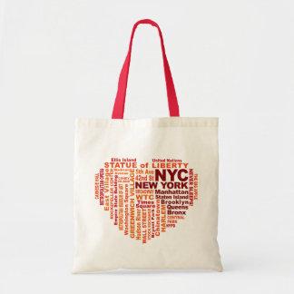 Bolso de NYC - elija el estilo y el color Bolsa Tela Barata