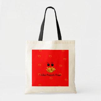 Bolso de patatas fritas bolsa tela barata