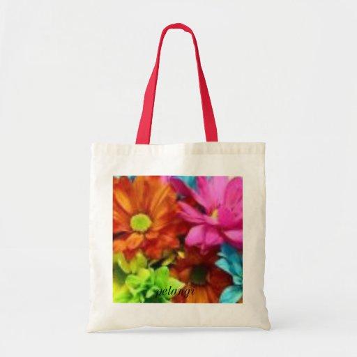 Bolso de Pelangi (diseño de la flora) Bolsa Tela Barata