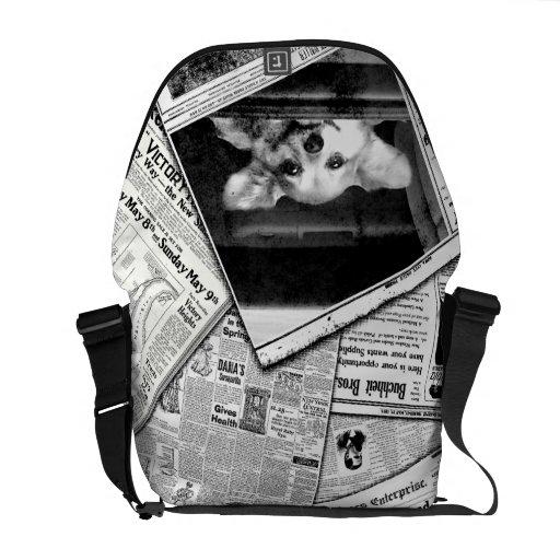 Bolso de perrito bolsas messenger