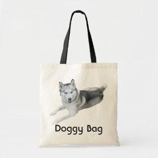 Bolso de perrito - husky siberiano