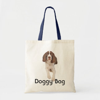 Bolso de perrito - perro de aguas de saltador ingl bolsa tela barata
