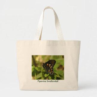 Bolso de Pipevine Swallowtail Bolsa Tela Grande