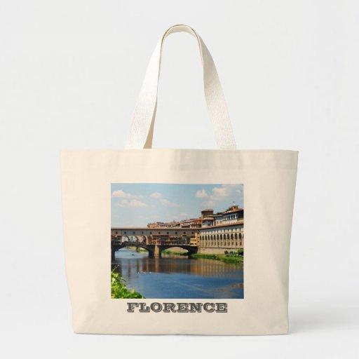 Bolso de Ponte Vecchio Bolsa Tela Grande
