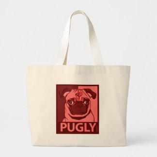 Bolso de Pugly Bolsa Tela Grande