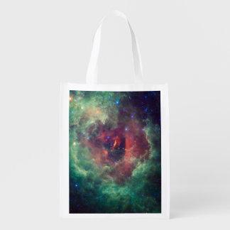 Bolso de Reuseable de la galaxia Bolsas Reutilizables