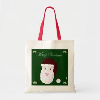 Bolso de risa de Santa (rojo) Bolsa Tela Barata