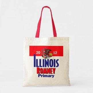 Bolso de Romney ILLINOIS Bolsa Tela Barata