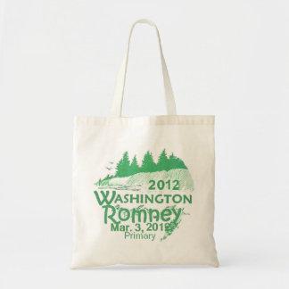 Bolso de Romney Washington Bolsa Tela Barata
