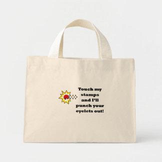 Bolso de sacador raro bolsa tela pequeña
