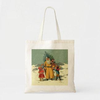 bolso de santa del Viejo Mundo Bolsa Tela Barata