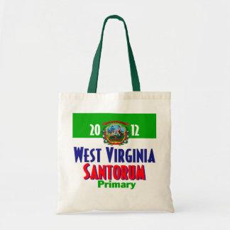 Bolso de Santorum VIRGINIA OCCIDENTAL Bolsa Tela Barata
