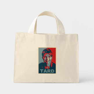 Bolso de Sarah Palin Tard Bolsa Tela Pequeña