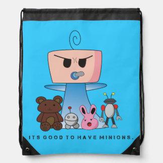 """Bolso de secuencia de los """"subordinados"""" - un mochilas"""