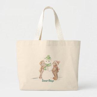 Bolso de Snowbear Bolsa Tela Grande