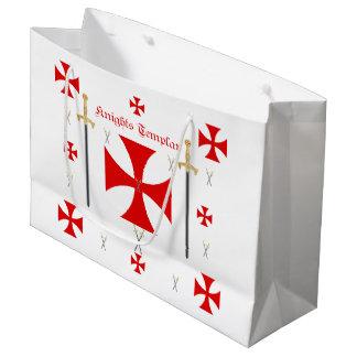 Bolso de Templar de los caballeros Bolsa De Regalo Grande
