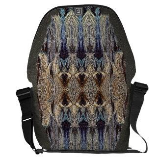 Bolso de textura del viajero de la forma de vida bolsa de mensajeria