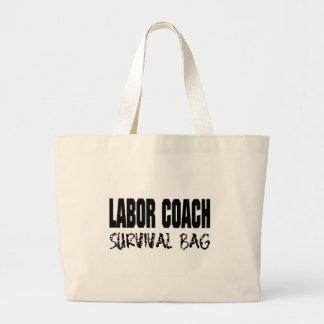 bolso de trabajo de la supervivencia del coche bolsa tela grande