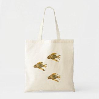 Bolso de tres pescados bolsas