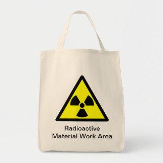 Bolso de ultramarinos amonestador de la radiación bolsa tela para la compra
