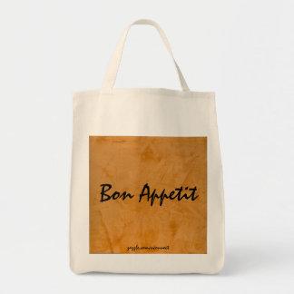 Bolso de ultramarinos anaranjado toscano de bolsa tela para la compra
