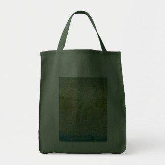 Bolso de ultramarinos de cernido de verde de hadas bolsas