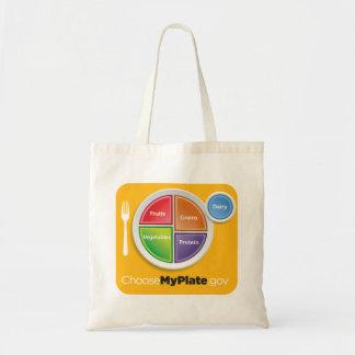 Bolso de ultramarinos de MyPlate - amarillo Bolsa
