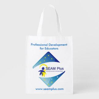 Bolso de ultramarinos del curso particular SEAM360 Bolsa Para La Compra