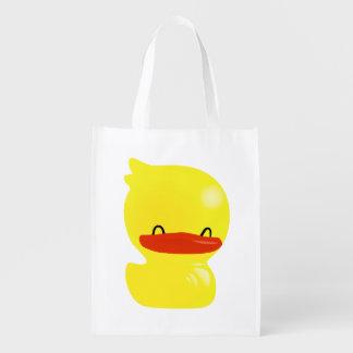 Bolso de ultramarinos lindo estupendo de Duckie Re Bolsas Reutilizables