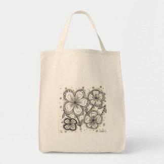 Bolso de ultramarinos orgánico bolsa tela para la compra