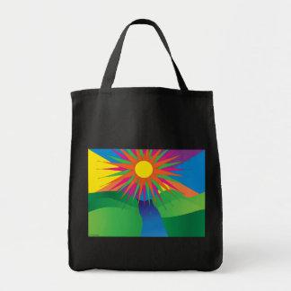 bolso de ultramarinos psychdelic del sol bolsa
