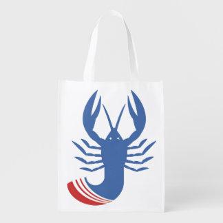 Bolso de ultramarinos reutilizable #Crawfish2016 Bolsa De La Compra