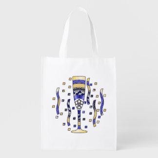 Bolso de ultramarinos reutilizable de la tostada d bolsa para la compra