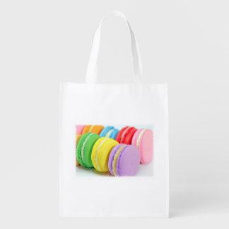 Bolso de ultramarinos reutilizable de Macarons Bolsa De La Compra