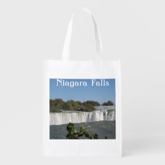 Bolso de ultramarinos reutilizable de Niagara Bolsa Para La Compra