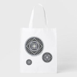 Bolso de ultramarinos reutilizable del cáncer bolsas de la compra