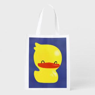 Bolso de ultramarinos reutilizable lindo estupendo bolsas para la compra