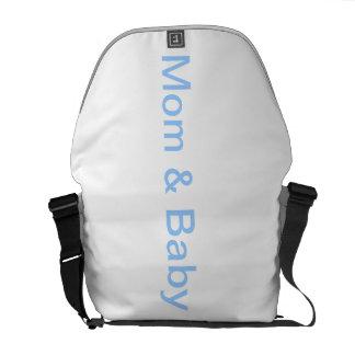 Bolso de uso múltiple de la mamá y del bebé bolsas de mensajería