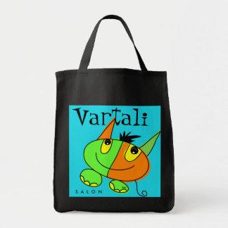 Bolso de Vartali del carnaval del mascota del mons Bolsa Tela Para La Compra