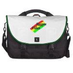 Bolso de Vibz del reggae Bolsas De Portatil