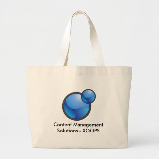 Bolso de XOOPS - CMS y soluciones porta Bolsa Tela Grande