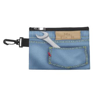 Bolso del accesorio de ms Fix It Clip On